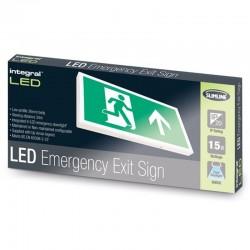 Nødudgang LED lysskilt...