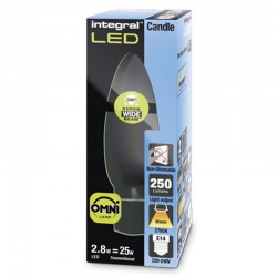 E14 Kerte 250Lm 2,8 Watt...