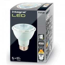PAR20 450Lm 6 Watt (57W)...