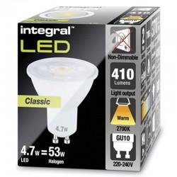 GU10 410Lm 4,7 Watt (53W)...