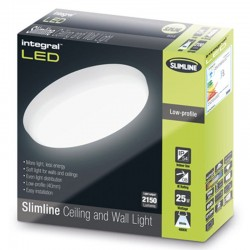 Slimline loftslampe 1584Lm...